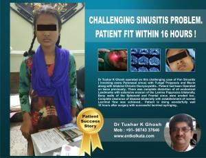 success story 3 - sinusitis edt